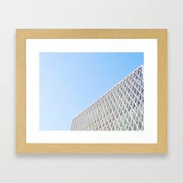 American Cement Building Framed Art Print