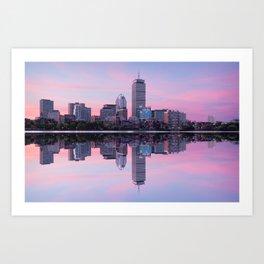 Boston before sunrise Art Print