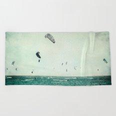 Tarifa beach Beach Towel