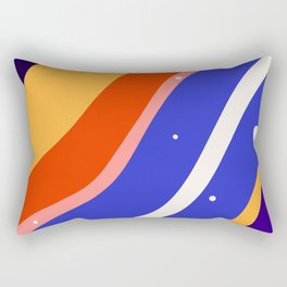 Whimsical waves Rectangular Pillow