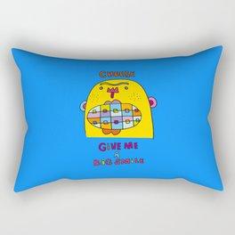 a big lovely smile Rectangular Pillow