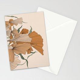 Abstract Botanics Stationery Cards