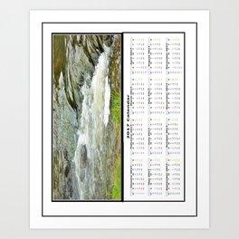 Stream 2 2017 Calendar Art Print