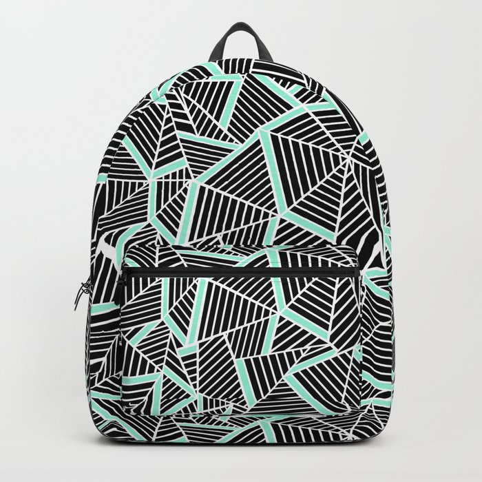 Ab 2 Repeat Mint Backpack