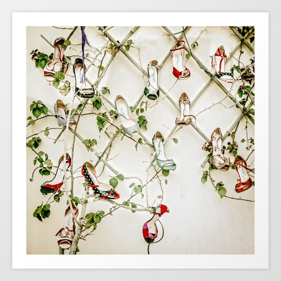 Evergreen everblossom Art Print