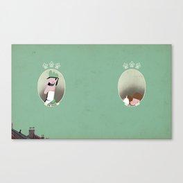 Mr Peek & Jimmy Canvas Print