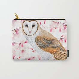 Cherry Owl Carry-All Pouch