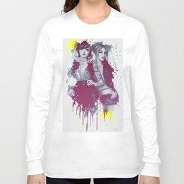 two girls Long Sleeve T-shirt