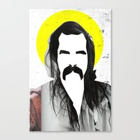 nick cave Canvas Prints featuring Nick Cave by Teagues Art