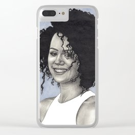 Nathalie Emmanuel Clear iPhone Case