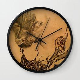 Awaken Something Fierce Wall Clock