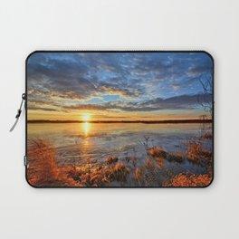 Winds On Big Marsh Laptop Sleeve