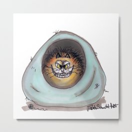 Fat Cat Sweet Dreams Metal Print