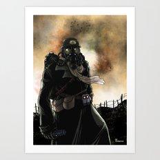 Le dernier survivant / The last survivor Art Print