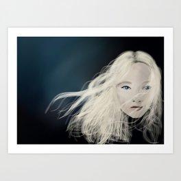 Young Cosette  Art Print