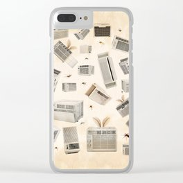 Dog Days of Summer Clear iPhone Case