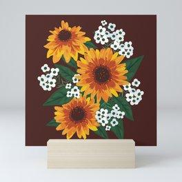 Autumn Bouquet Mini Art Print
