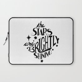 The Stars are Brightly Shining Laptop Sleeve