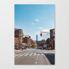Downtown New York Canvas Print