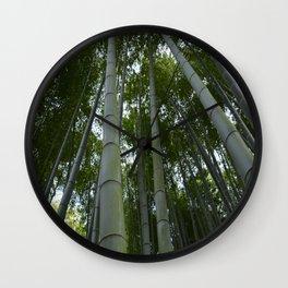 Bambu forest Wall Clock