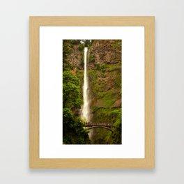 Upper Falls, Multnomah Falls Framed Art Print