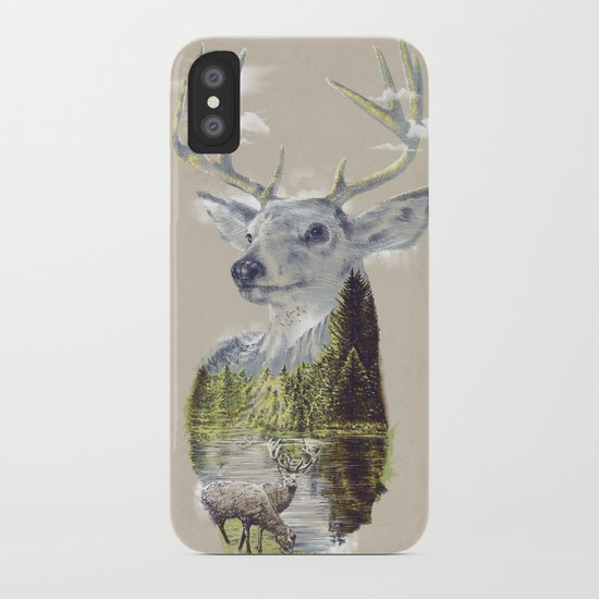 Mo'deer' Nature iPhone Case