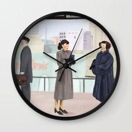 Kanda Station Wall Clock