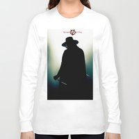 vendetta Long Sleeve T-shirts featuring V for Vendetta (e4) by Ezgi Kaya