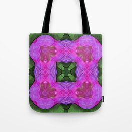Flowers of Synchrony Tote Bag