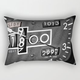 Altimeter Rectangular Pillow