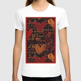 Kiss Me, Miss Me Red T-shirt