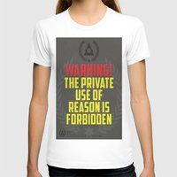 propaganda T-shirts featuring Dystopian propaganda  by Mama juice