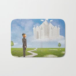 Looking to the Future  Bath Mat