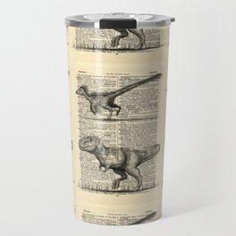 Dictionary Dinosaurs Travel Mug