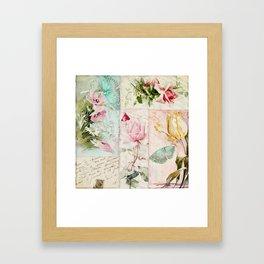 Belles Fleurs II Framed Art Print
