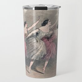 The Three Ballerinas Travel Mug