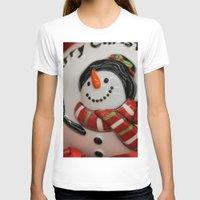 globe T-shirts featuring Frosty Globe by IowaShots