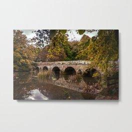 Bridge over the Stour Metal Print