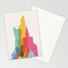 Shapes of Moscow Stationery Cards