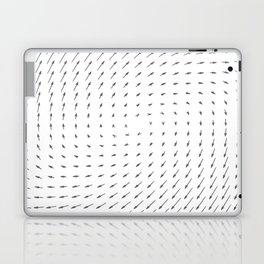 Vector Field basic - Gray Laptop & iPad Skin