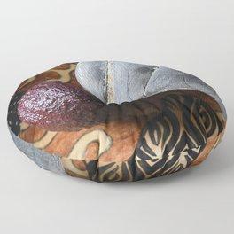Avocado and Stone Floor Pillow