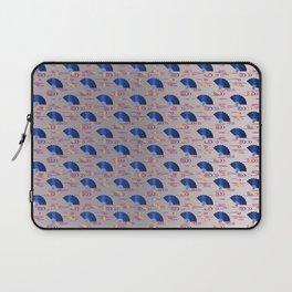 Traditional Japanese pattern OHGI-NAGASHI Laptop Sleeve