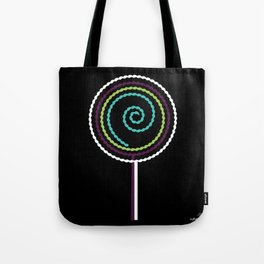 Lollipop - The Marvelous Colors of a Lollipop Tote Bag