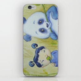 """Panda Pal Pleasantries"" iPhone Skin"