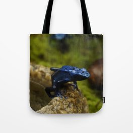Blue Frog Tote Bag