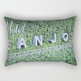 Hotel San Jose Sign Rectangular Pillow