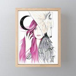 New Moon Framed Mini Art Print