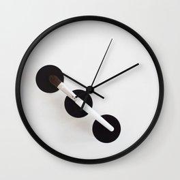 makeup brush Wall Clock