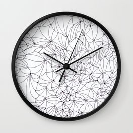 Church Fractals Wall Clock