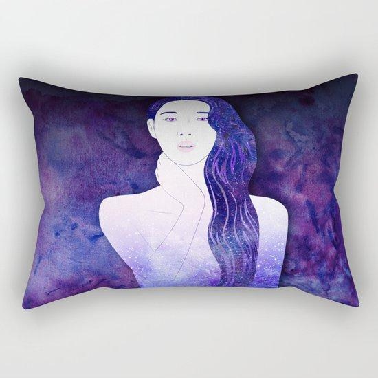Velvet Echo Rectangular Pillow